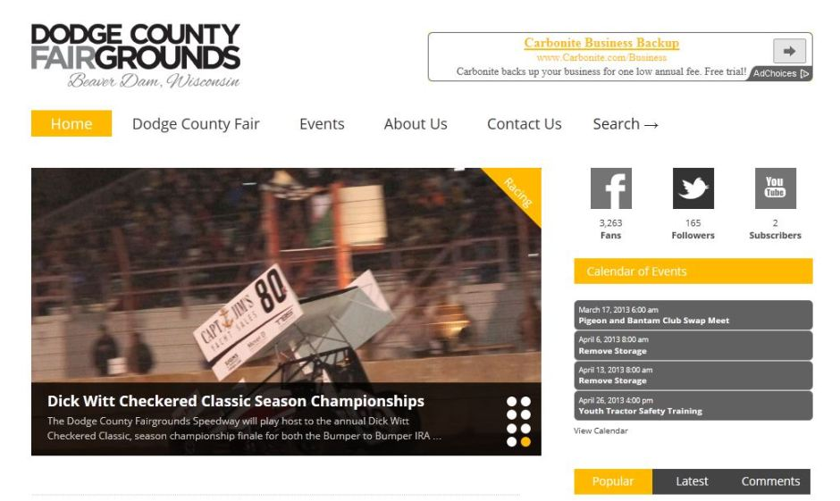 Dodge County Fairgrounds Online