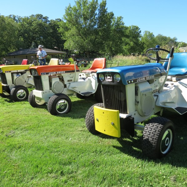 John Deere Collectors Gather to Celebrate 50 Years of Mowing