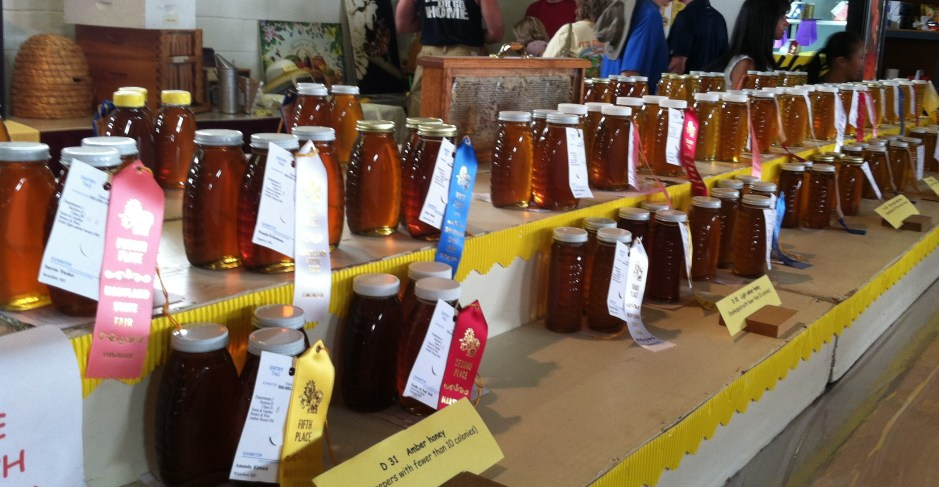 Honey Open Class Fair Exhibits