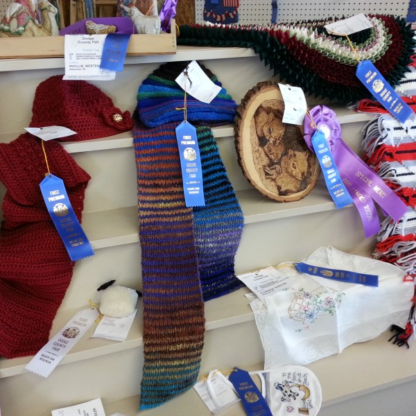 Open Class Knitting and Crocheting Judging Results