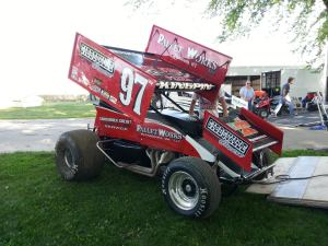 Todd King of Sheboygan, WI #97 IRA Outlaw Sprint Car Series