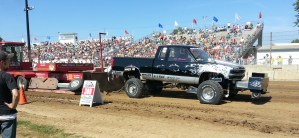 4WD Truck Pull at the Dodge County Fair