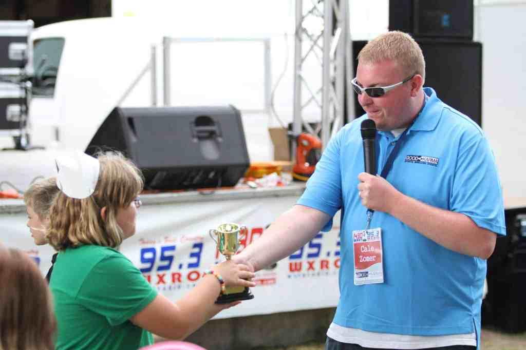 Cale Zomer WXRO WBEV Radio Park Contest Coordinator