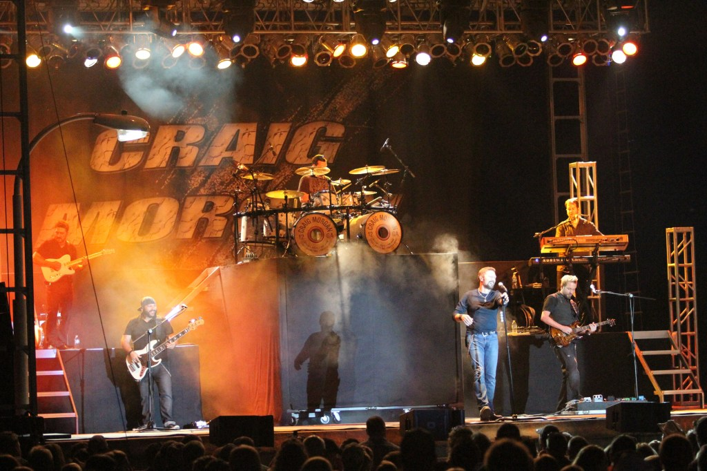Craig Morgan performed on Thursday, August 15, 2013 at the Dodge County Fair