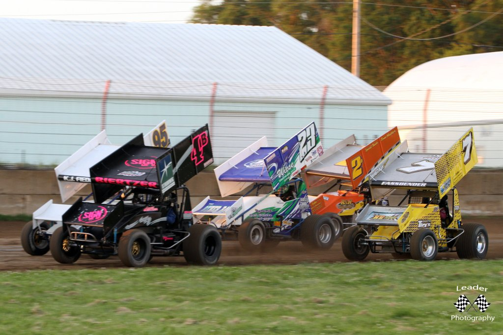 IRA 410 Winged Sprint Cars