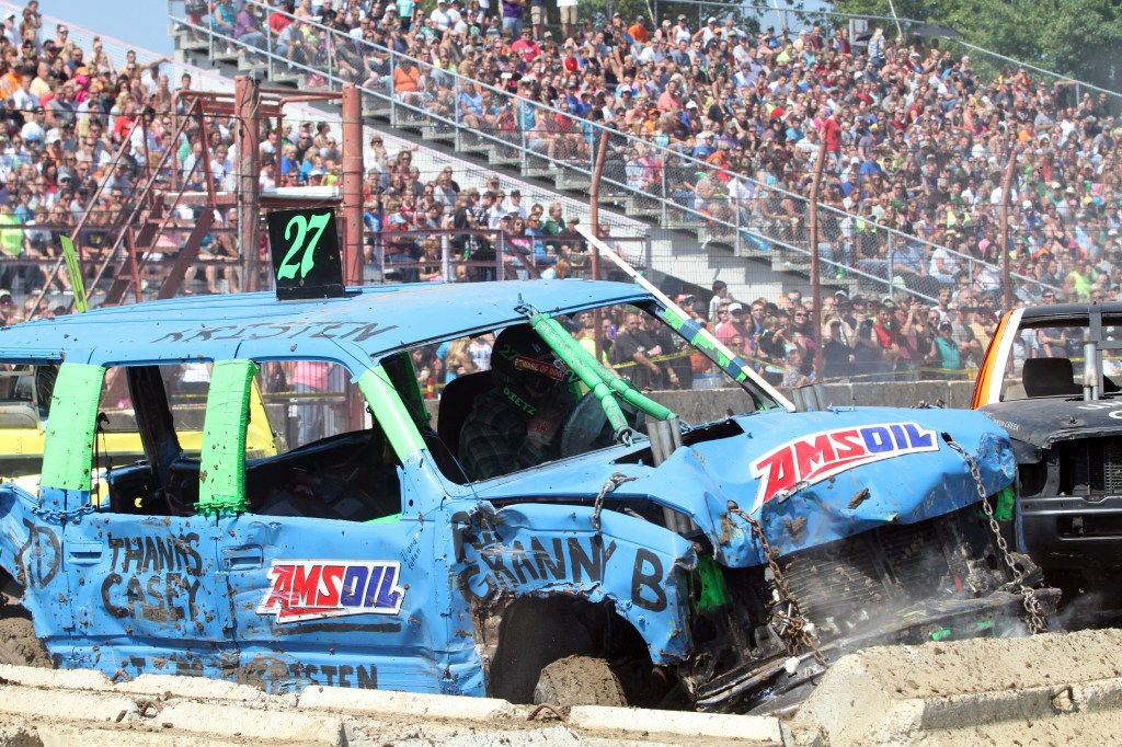 Demo Derby at DCFair Beaver Dam WI