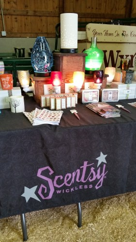 Scentsy Booth at the Dodge County Flea Market
