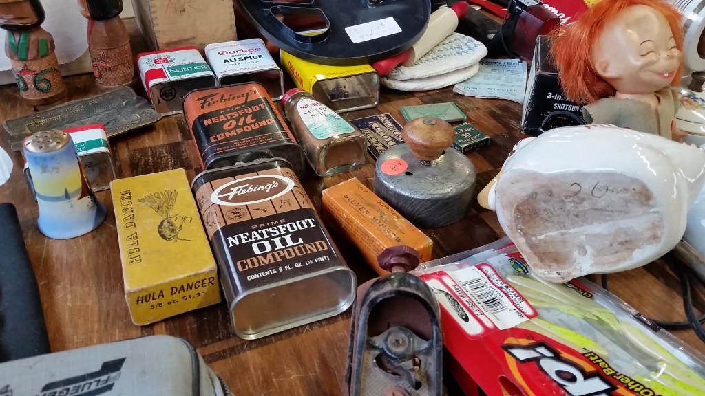 Collectibles at the Dodge County Flea Market