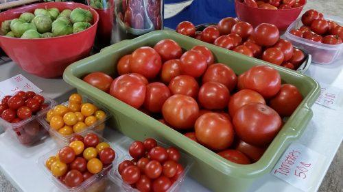Produce at the Dodge County Flea Market