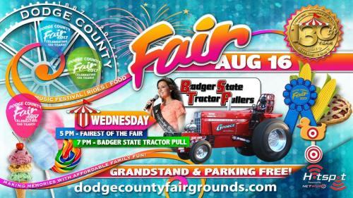 2017 Dodge County Fair Wednesday August 16