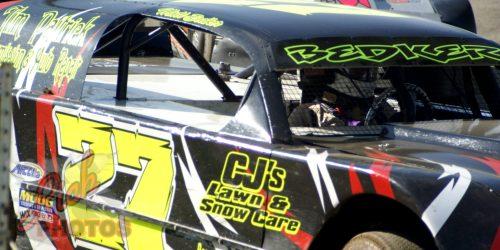 Matt Bedker in the Daizy Sweeps DCSA Grand National