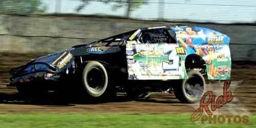 Mike Mueller Dirt Track Racing on Half Mile Speedway