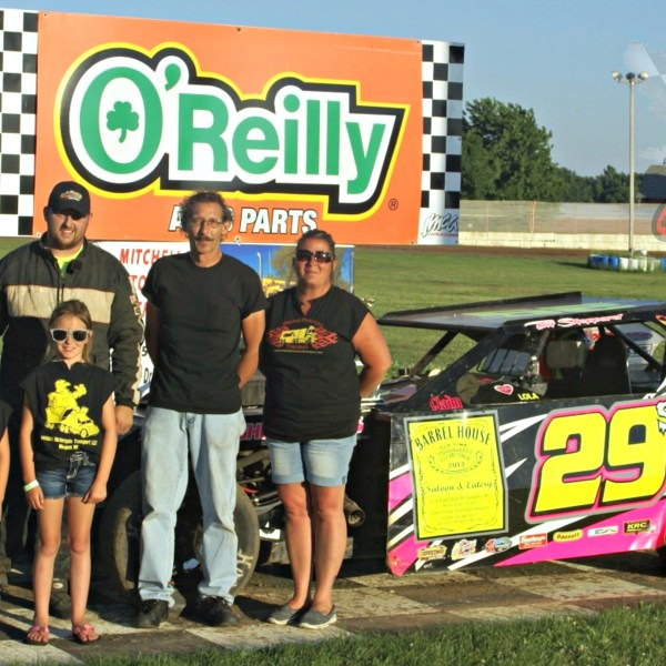 New Faces in Victory Lane on Mitchell Transport night