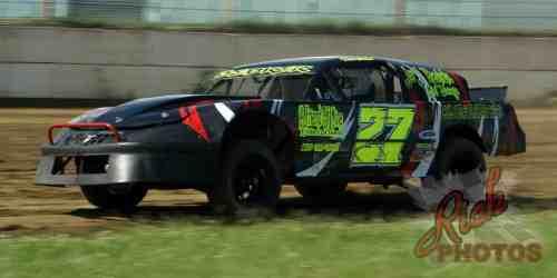 Matt Bedker DCSA Grand National Dirt Track Racing WI