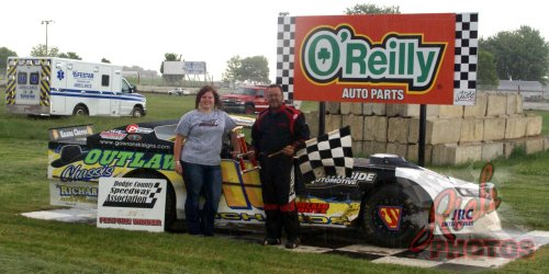 Jeff Richards of Montello WI Feature Win