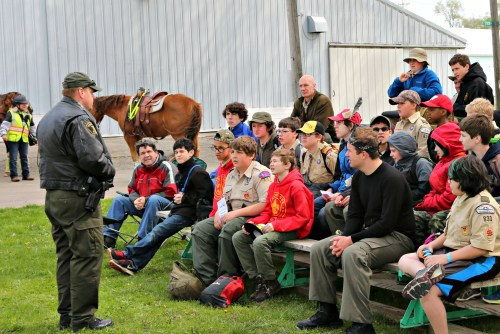 Boy Scout Spring Camporee Dodge County Sheriff Seminar
