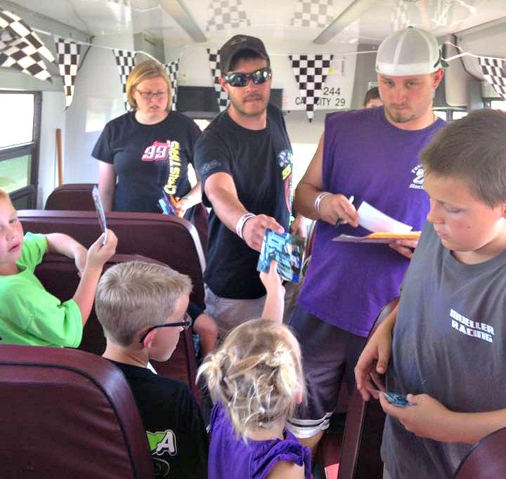 DCSA FREE Kids Club Pit Bus Tour