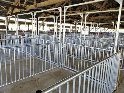 Donated Swine Pens for the Dodge County Fair