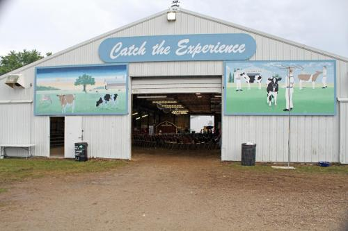 Farm Progress Arena Catch the Experience Mural