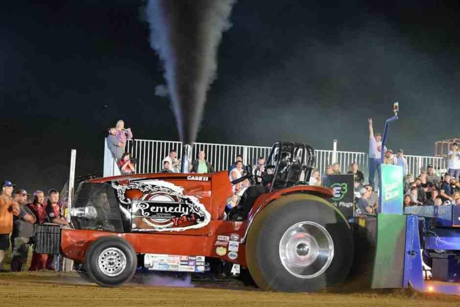 Full Pull BSTP Dodge County Fair Wisconsin