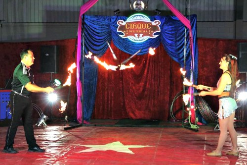 Indoor Circus Dodge County Fair Grounds