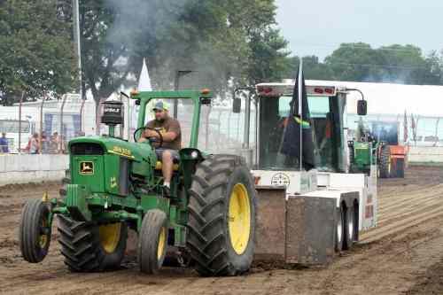 John Deere Farm Tractor Pull Beaver Dam WI