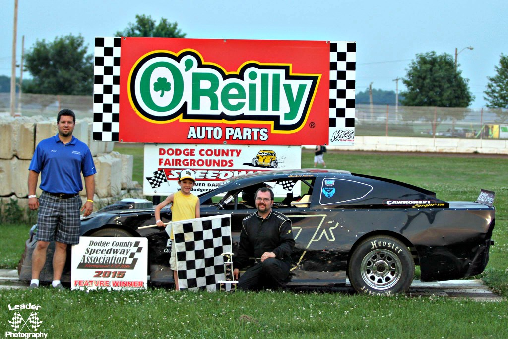 Kenny Richards Grand National Feature Win