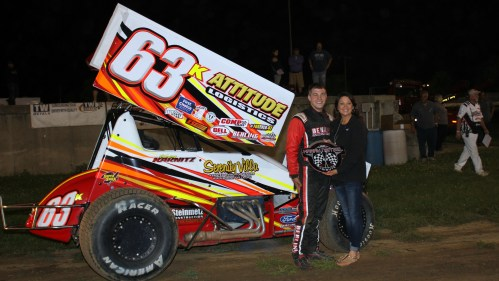 MSA 360 Sprint Car win Kevin Karnitz