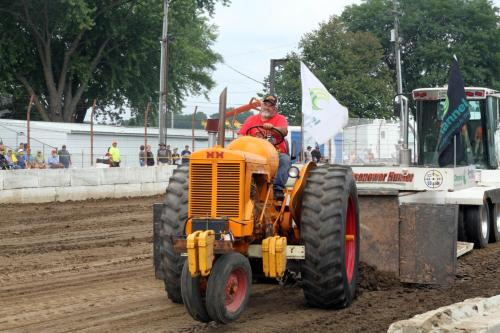 Minneapolis Moline Farm Tractor Pull Wisconsin