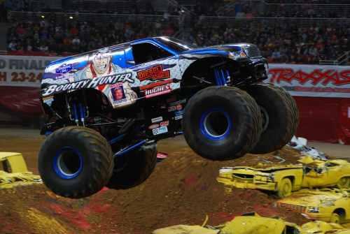 Monster Truck Bounty Hunter Dodge County Fairgrounds