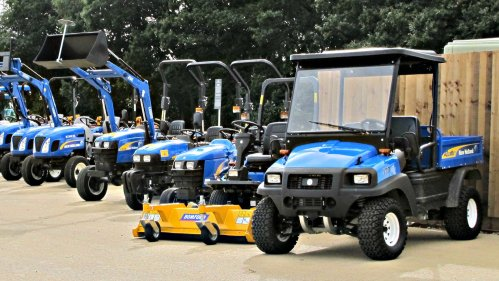 New Holland Compact Tractor Utility Vehicle