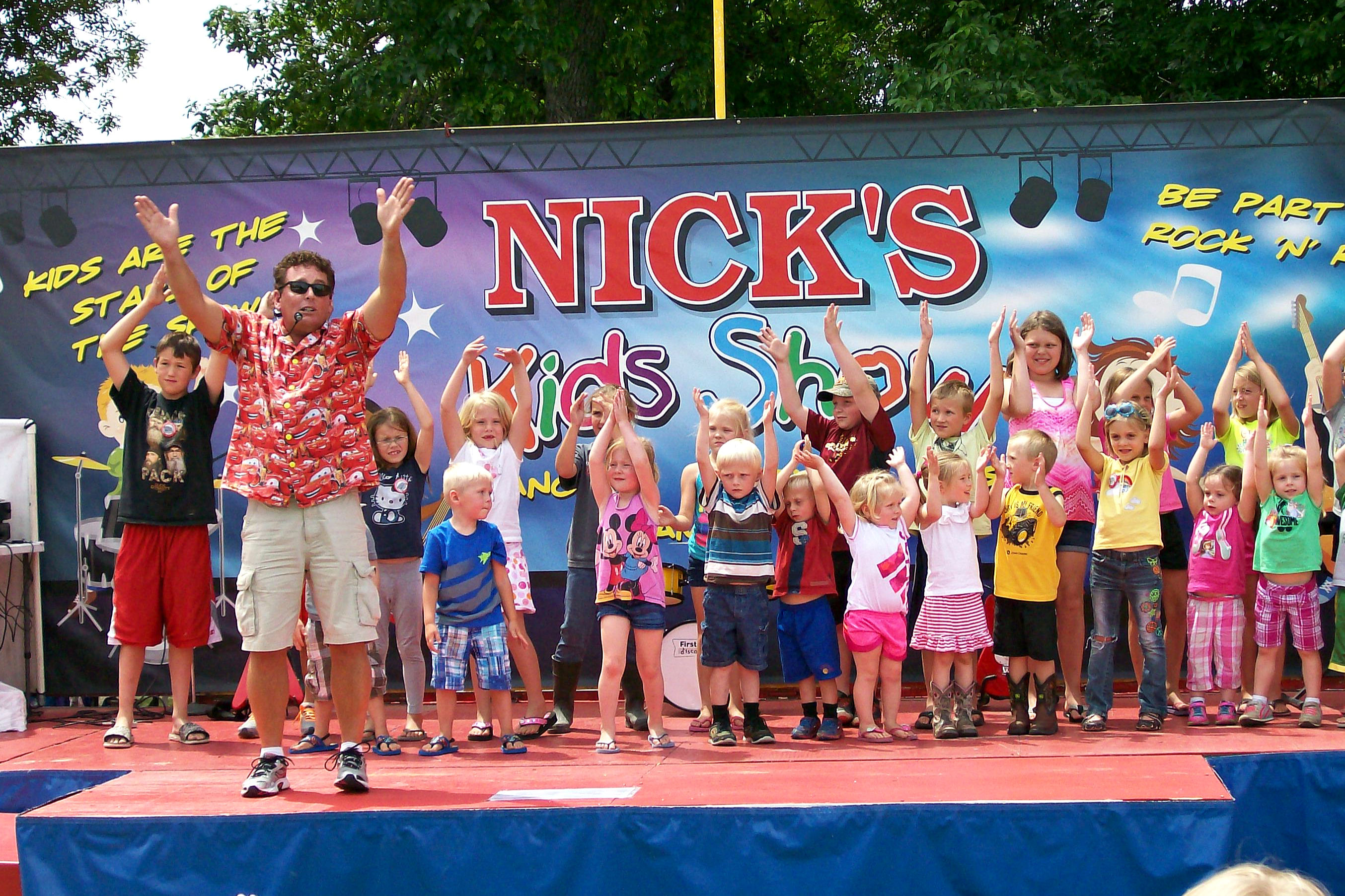 Nicks Kids Show Wisconsin
