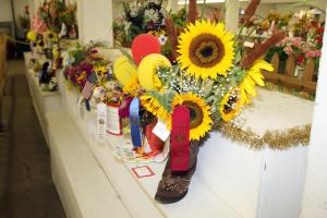 Open Class Flower Exhibit