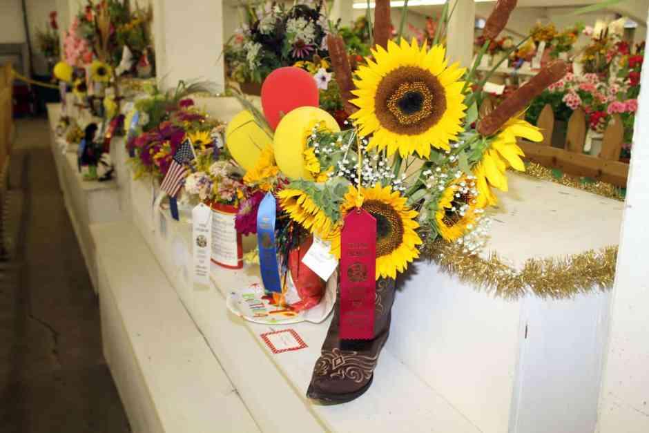 Open Class Flower Exhibit