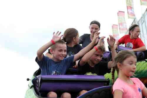 Wisconsin Fair Roller Coaster AP Carnival