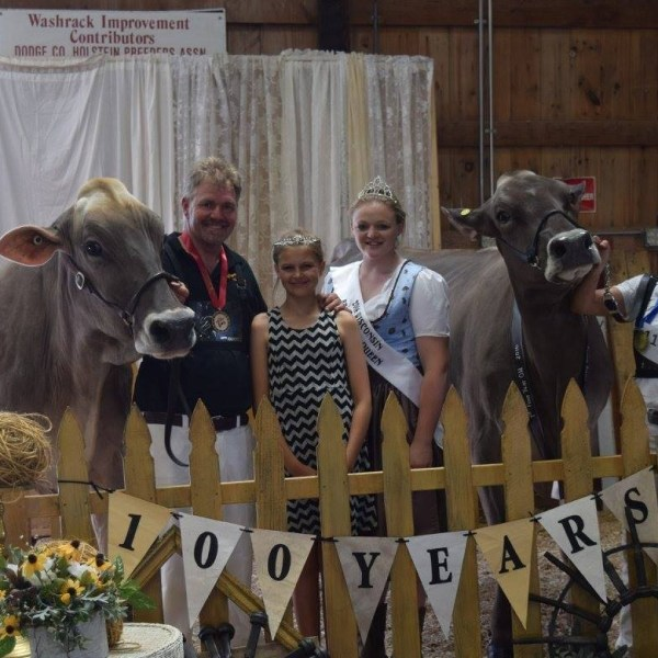 Spectacular weekend Celebrating 100 Years of WI Brown Swiss