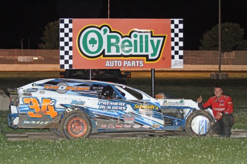 Dustin Smits wins Modified Feature