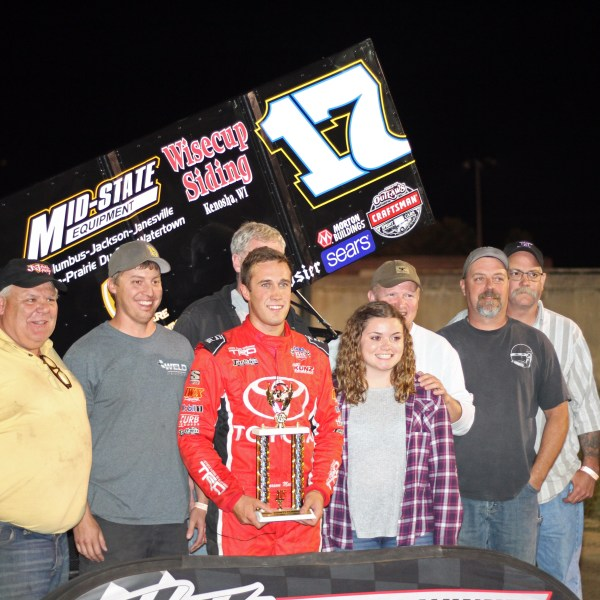 Carson Macedo first career IRA Sprint Series Win