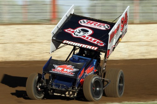 Rob Pribnow in the 94 IRA Outlaw Sprint Car