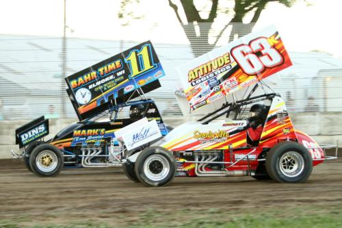 IRA Outlaw Sprint Cars and MSA 360 Sprints