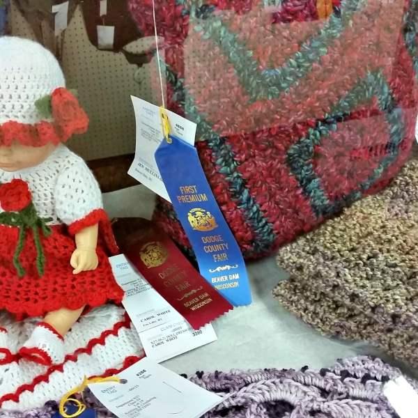 2019 Junior Fair Knitting and Crocheting Judging Results