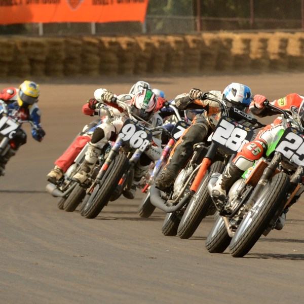 AMA Flat Track Motorcycle Racing this weekend