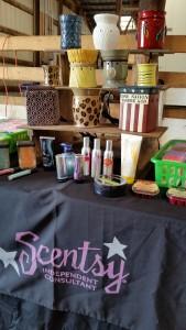 scentsy vendor booth beaver dam wi