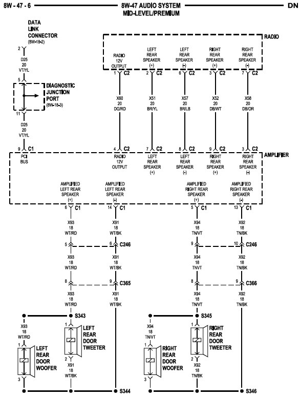 dodge neon wiring diagram image wiring 2000 dodge neon radio wiring diagram wiring diagram on 2005 dodge neon wiring diagram