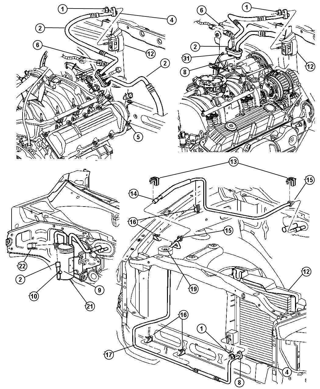 Dodge Air Conditioning Diagram