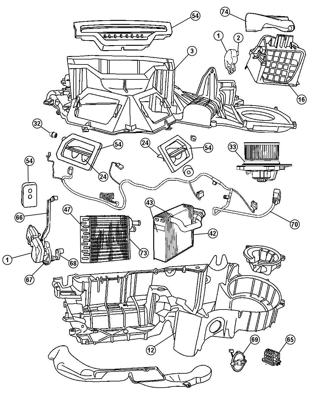 Dodge Durango Heater Diagram
