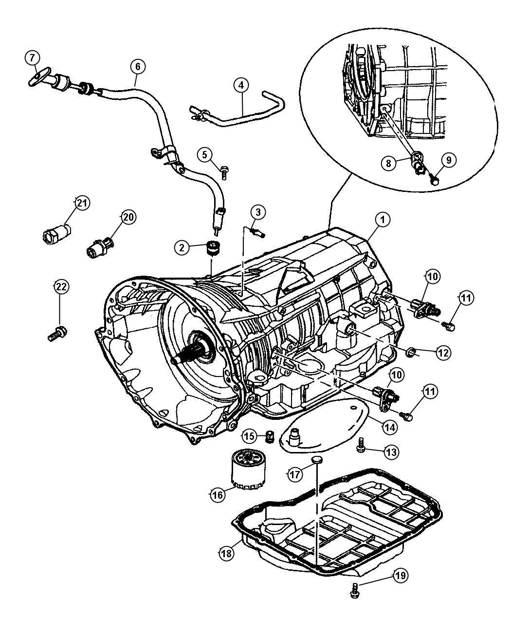 Dodge Durango Case Package Transmission Includes
