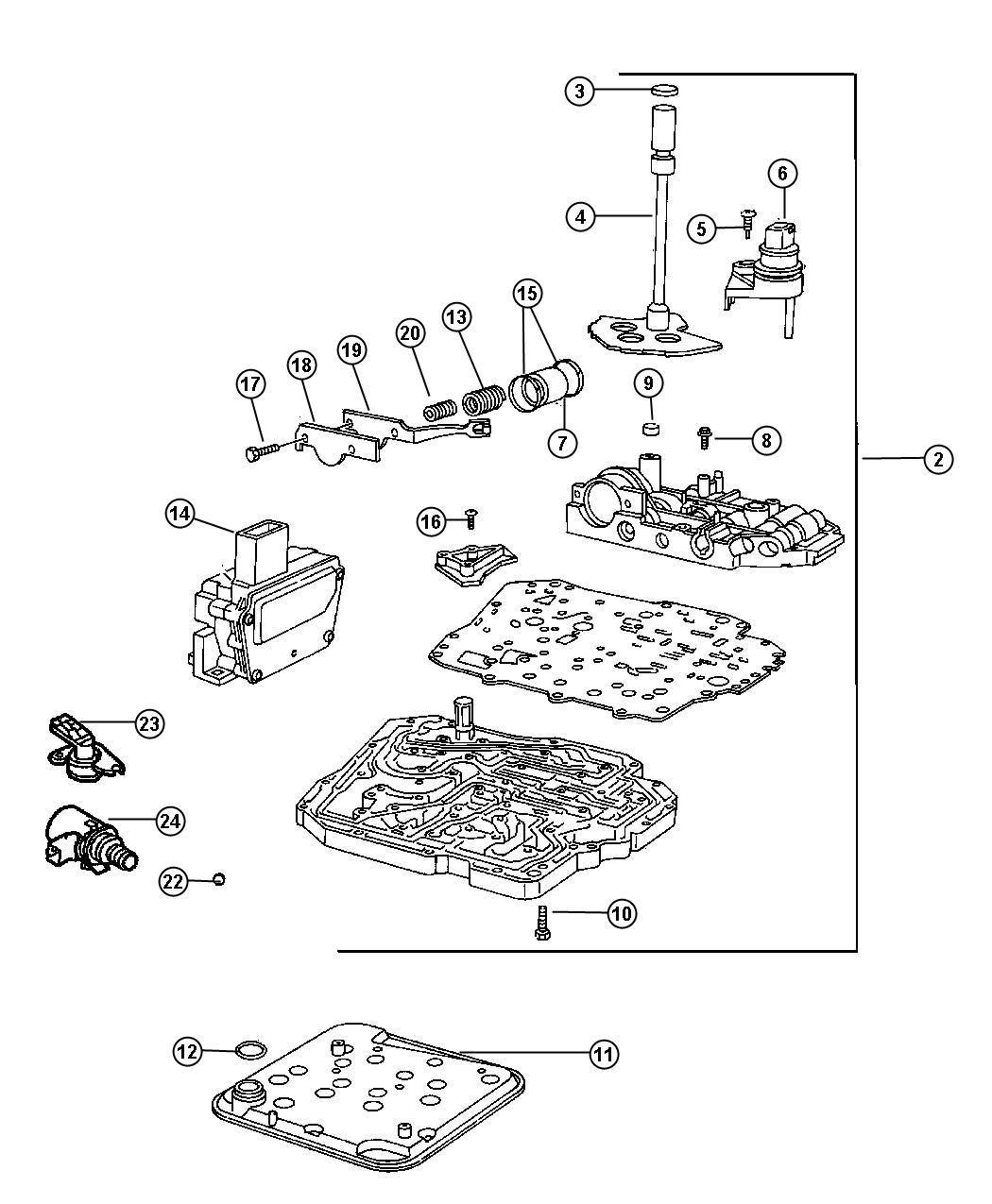 valve body#2000 dodge 46re transmission diagram#dodge 48re transmission  diagram#46re rebuilding diagram#46re valve body diagram spring#dodge 46re