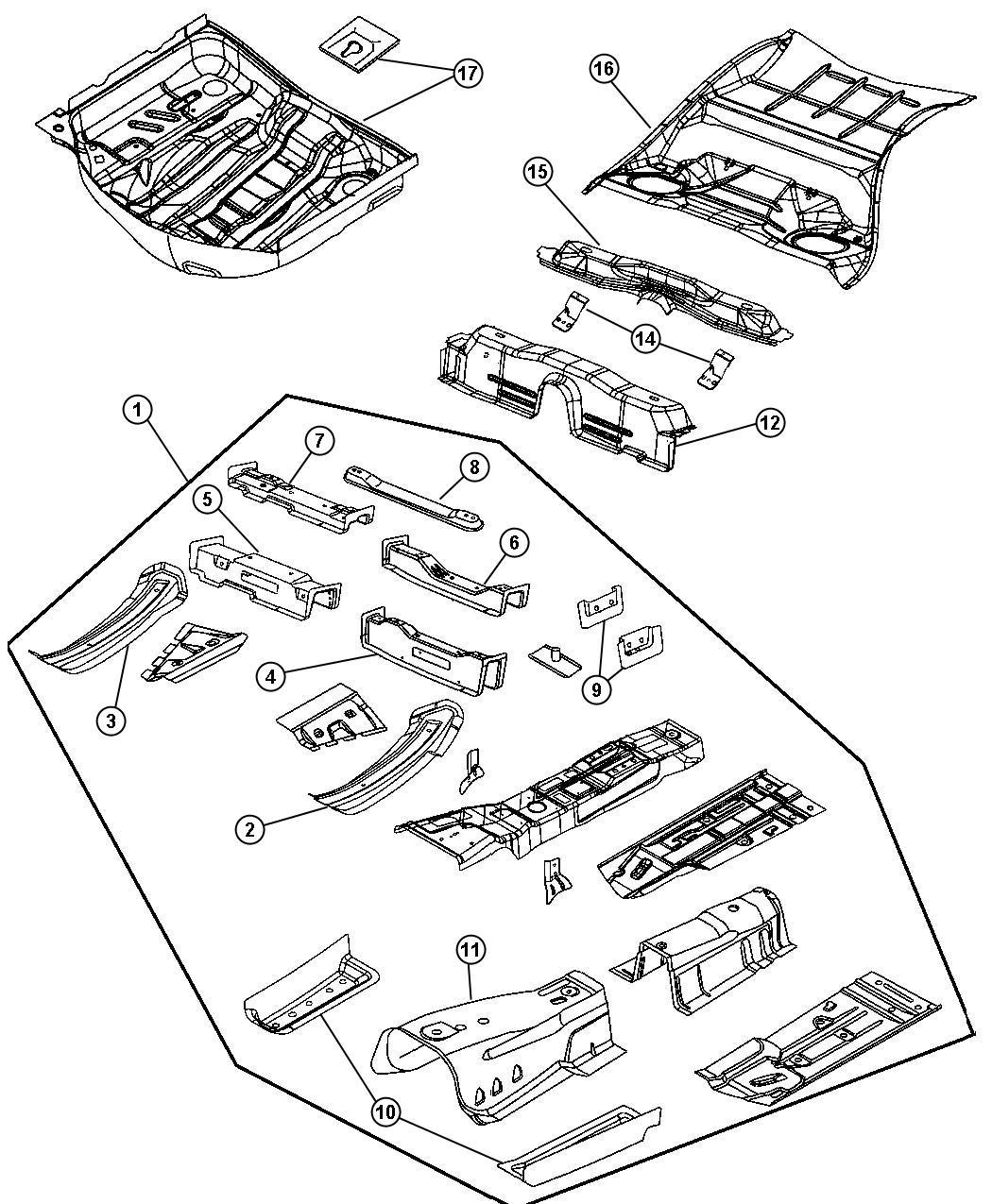 Dodge Magnum Part Diagram