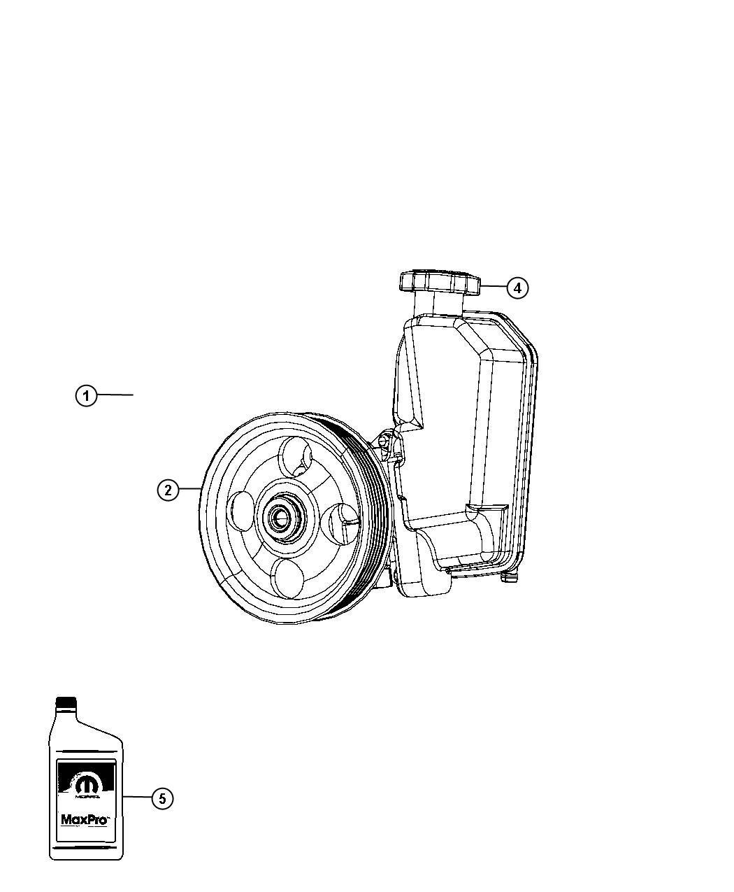 Dodge Nitro Pump Power Steering High Temperature Pinion